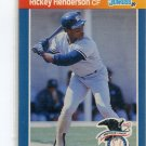RICKEY HENDERSON 1989 Donruss All-Star #4 New York NY Yankees