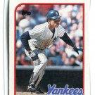 RICKEY HENDERSON 1989 Topps  #380 New York NY Yankees
