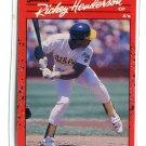 RICKEY HENDERSON 1990 Donruss #304 Oakland A's