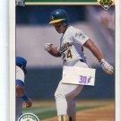 RICKEY HENDERSON 1990 Upper Deck #334 Oakland A's