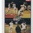 RICKEY HENDERSON 1990 Score World Series #702 Oakland A's