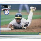 RICKEY HENDERSON 1990 Score World Series #698 Oakland A's