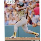 RICKEY HENDERSON 1991 Fleer Ultra #248 Oakland A's