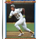 RICKEY HENDERSON 1991 Topps All-Star #391 Oakland A's