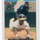 RICKEY HENDERSON 1992 Donruss #193 Oakland A's