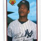 RICKEY HENDERSON 1989 Bowman #181 New York NY Yankees