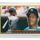 RICKEY HENDERSON 1989 Topps Big #271 New York NY Yankees
