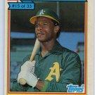 RICKEY HENDERSON 1984 Topps Ralston Purina #15 Oakland A's
