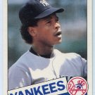 RICKEY HENDERSON 1985 Topps Traded #49T New York NY Yankees
