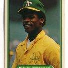 RICKEY HENDERSON 1982 Fleer #92 Oakland A's
