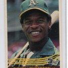 RICKEY HENDERSON 1984 Donruss #54 Oakland A's