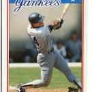 RICKEY HENDERSON 1988 Topps Mini #31 New York NY Yankees