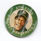 RICKEY HENDERSON 1985 7-Eleven Slurpee Coin #12 Oakland A's