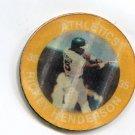 RICKEY HENDERSON 1984 7-Eleven Slurpee Coin #11 Oakland A's