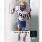 JON JONATHAN BALDWIN 2011 SP Authentic #96 ROOKIE Kansas City KC Chiefs PITT PANTHERS