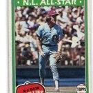 MIKE SCHMIDT 1981 Topps #540 Philadelphia Phillies