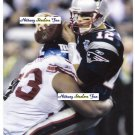 JAY ALFORD Penn State Nittany Lions DT 2003-06  -  8x10 NY Giants Super Bowl Sack