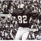 TED KWALIK Penn State Nittany Lions TE 1965-68  -  8x10 A 49ers