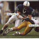TIM SHAW Penn State Nittany Lions LB 2002, 04-06  -  8x10 Carolina Panthers BEARS