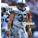 JUSTIN KURPEIKIS Penn State Nittany Lions DE 1997-00  -  8x10