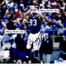 BRANDON NOBLE Penn State Nittany Lions DE 1993-96  -  8x10 AUTO Autograph COWBOYS Redskins