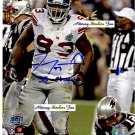 JAY ALFORD Penn State Nittany Lions DT 2003-06 - 8x10 AUTO Autograph GIANTS Super Bowl Insciption