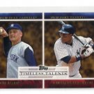 ROGER MARRIS / CURTIS GRANDERSON 2012 Topps Timeless Talents INSERT New York NY Yankees