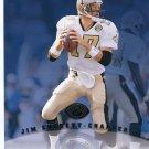 JIM EVERETT 1997 Leaf 8x10 Saints CHARGERS Purdue Boilermakers QB