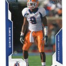 QUINTIN DEMPS 2008 Upper Deck UD Draft Edition #89 ROOKIE UTEP Miners EAGLES