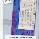 Penn State Nittany Lions vs. USC Trojans - Kick-Off Classic - TICKET STUB A - August 27, 2000