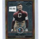 JIM THORPE 2006 Topps Chrome Hall of Fame Induction INSERT #HOFT-JT