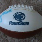 LENNY MOORE Autographed AUTO Mini Penn State Football NITTANY LIONS