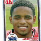 ANTHONY TURNER 2004 Big 33 High School card BOWLING GREEN QB