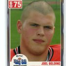 JOEL BELDING 2004 Big 33 High School card NORTHWESTERN Wildcats