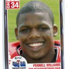 PERNELL WILLIAMS 2004 Big 33 High School card WEST VIRGINIA Mountaineers RB
