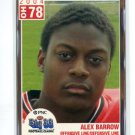 ALEX BARROW 2004 Big 33 High School card OHIO STATE Buckeyes DE