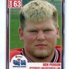 BEN PEARSON 2004 Big 33 High School card OHIO STATE Buckeyes