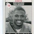 SEAN WILLIAMS 1994 Big 33 High School card OHIO STATE Buckeyes WR