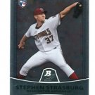 STEPHEN STRASBURG 2010 Bowman Platinum #1 ROOKIE Washington Nationals