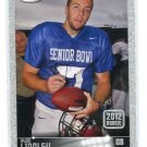 RYAN LINDLEY 2012 Sage Hit Rookie SILVER SP #62 San Diego State ARIZONA Cardinals QB
