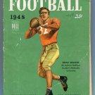 DOAK WALKER - Heisman Winner - 1948 Football Publication - OTTO GRAHAM QB Back Cover