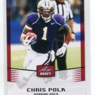 CARLOS POLK 2012 Leaf Draft #8 ROOKIE Washington Huskies EAGLES RB