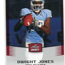 DWIGHT JONES 2012 Leaf Draft #19 ROOKIE North Carolina UNC Tar Heels WR