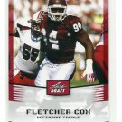 FLETCHER COX 2012 Leaf Draft #20 ROOKIE Mississippi State MISS ST Bulldogs EAGLES DT