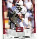 JACORY HARRIS 2012 Leaf Draft #22 ROOKIE Miami Canes HURRICANES Eagles QB