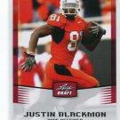 JUSTIN BLACKMON 2012 Leaf Draft #25 ROOKIE Oklahoma State Cowboys JAGUARS WR