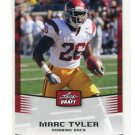 MARC TYLER 2012 Leaf Draft #30 ROOKIE Southern Cal USC Trojans RB
