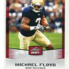 MICHAEL FLOYD 2012 Leaf Draft #35 ROOKIE Notre Dame Irish ARIZONA Cardinals WR