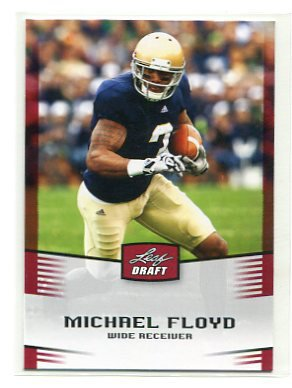 MICHAEL FLOYD 2012 Leaf Draft #35 ROOKIE Notre Dame Irish ARIZONA Cardinals WR