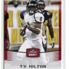 T.Y. TY HILTON 2012 Leaf Draft #46 ROOKIE Florida International COLTS WR